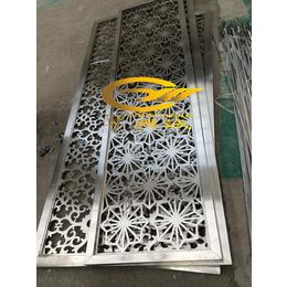 徐州大酒店精品黑钛红古铜雪拉丝不锈钢镂空雕花定制