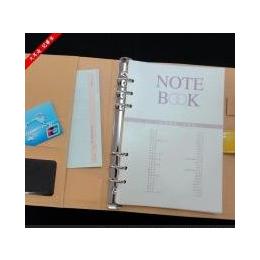 定做光面PU革活页笔记本 记事本
