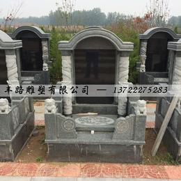中国黑墓碑 花岗岩组合墓碑价格