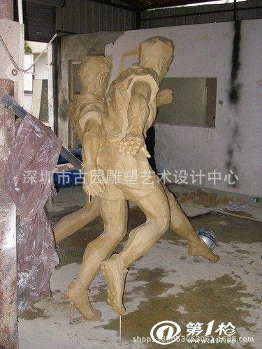 仿米开朗基罗大卫雕塑形象逼真精雕细琢(高180)