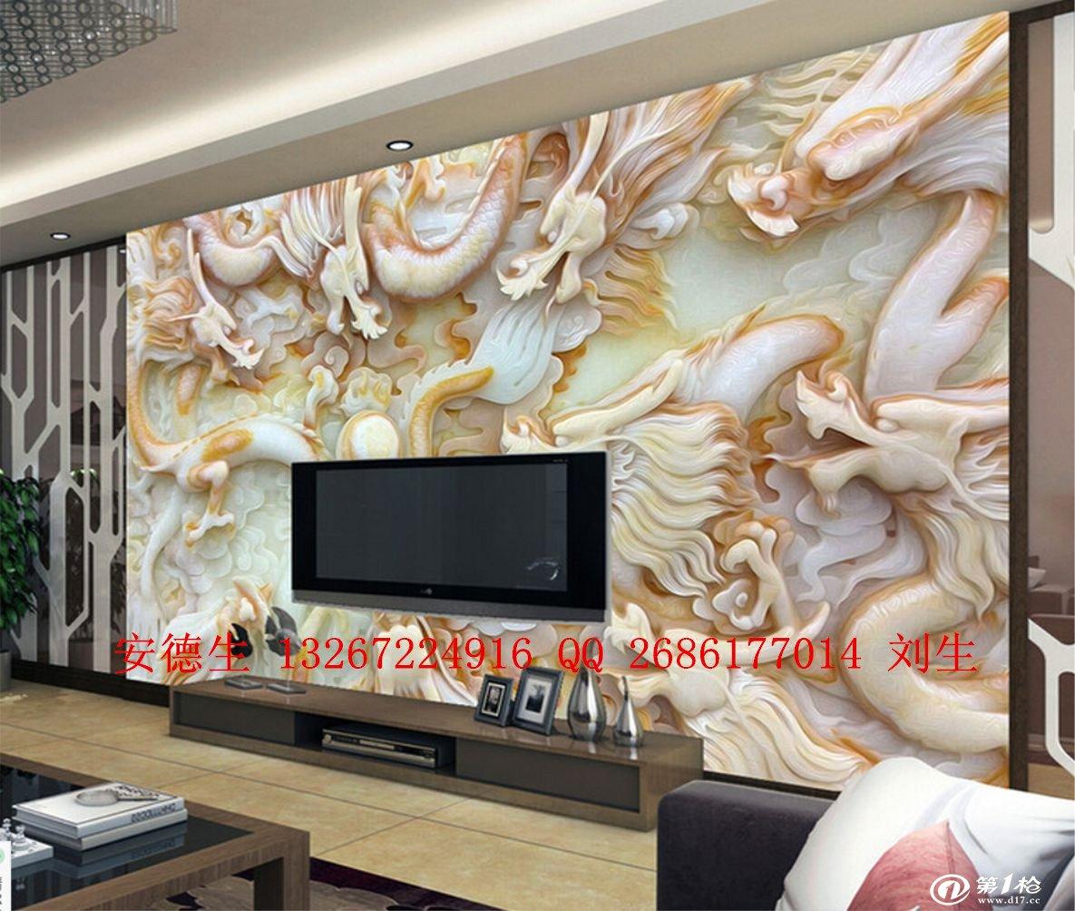 最热销创业设备3d玻璃陶瓷电视背景墙印花机让您的家