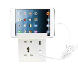 厂家热销座英美欧德意全球国际通用电源插座环保PC材质双USB