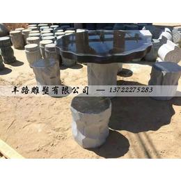 天然汉白玉大理石欧式简易石桌石凳