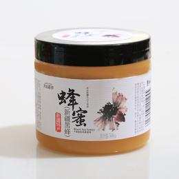 天山花开 新疆黑蜂500g 结晶蜜 新疆特产 蜂蜜批发