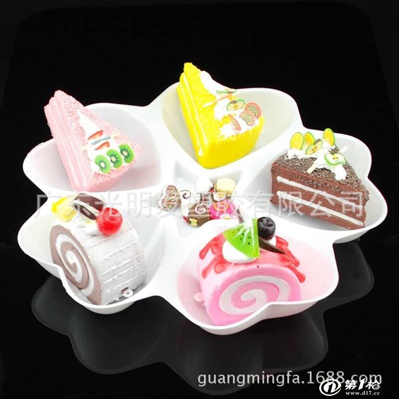 餐具 碗,碟,盘,盆 工厂生产 一次性塑料盘子 环保塑胶盘子 一次性梅花