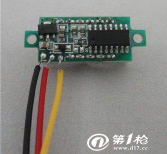 供应直流电压表 三线dc0-100v数显数字表头