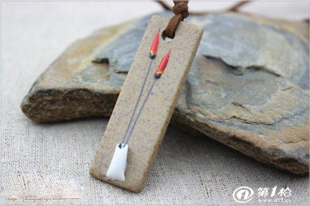 简墨原创陶泥原创个性项链手绘简约热销爆款zakka货源   1 ,它是高雅