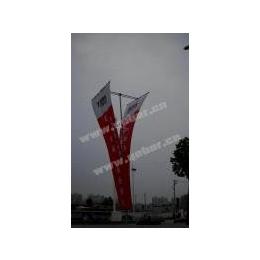 新品2面挂旗帜5米高广告旗杆缩略图