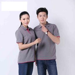 供应厂家直销T恤衫配色可绣字夏季短袖65棉不褪色男女通穿