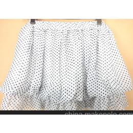 雪纺裙子 半身裙 短裙 韩版女装 雪纺蛋糕裙 夏装 新品 新款 女装