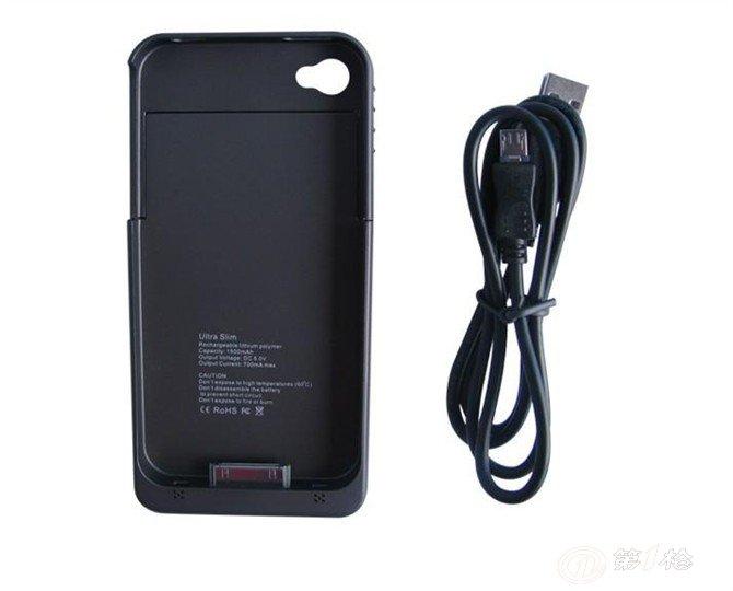 背夹电源 移动电源,后备电源,苹果4s背夹电池