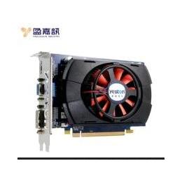 盈通R6670游戏高手P1 PCI-E独立显卡 1G 游戏显卡