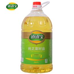 道道全纯正菜籽油   5L