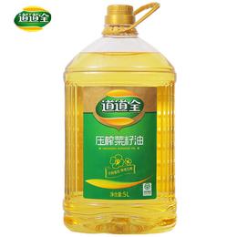 道道全压榨菜籽油  5L