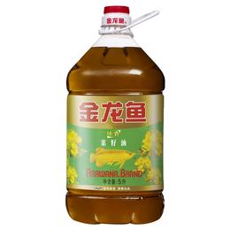 金龙鱼纯香菜籽油     5L