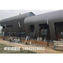 会所建筑铝镁锰金属屋面供河南