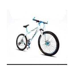 狄卡龙铝合金山地车油碟刹男女式21速26寸学生单车