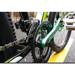 狄卡龙铝合金山地车自行车24速双碟刹26寸扁辐条学生单车