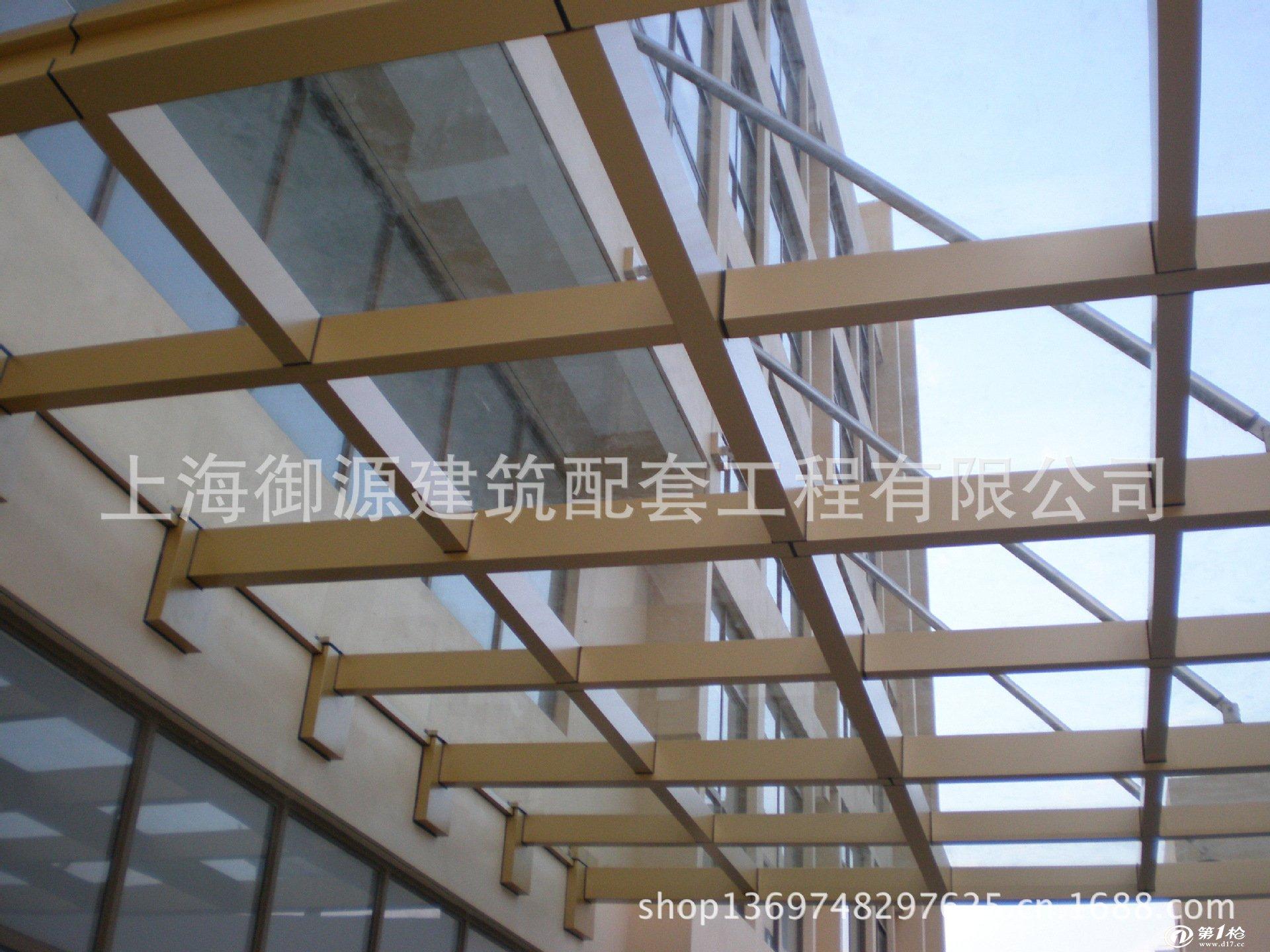 专业生产设计施工大型钢结构雨棚,钢结构玻璃雨棚 钢结构挡雨棚