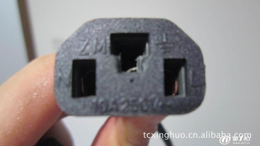 供应雅迪电动车充电器专用电源线