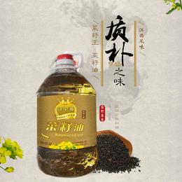 钰金源菜籽油  浓香小养  5L
