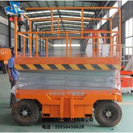 济南双力移动剪叉式升降平台6米厂家直销
