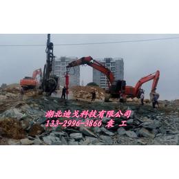 不能放炮怎么拆除混凝土和采矿 迪戈劈裂机供应厂家