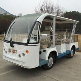 上海电动观光车 旅游景区电瓶车 8座校园工厂接送车终身维保