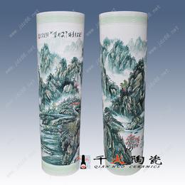 供应景德镇陶瓷大花瓶批发价格山水大花瓶厂家直销
