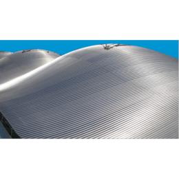 武汉曲面屋顶弧形铝镁锰金属屋面