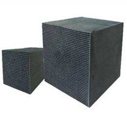 原生碳蜂窝块状活性炭江苏环保厂家直供废气吸附净化订制活性碳