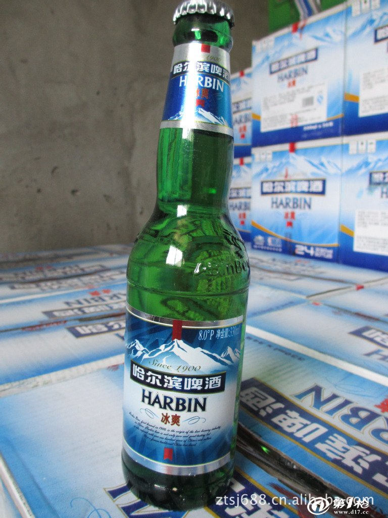 哈尔滨啤酒 冰爽啤酒 330ml*24