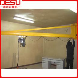 厂家直销500kg墙壁式悬臂吊KBK旋臂吊手动墙壁式起重机