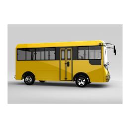 校园14座电动校巴 校园内使用电动校公交车 校园通勤车