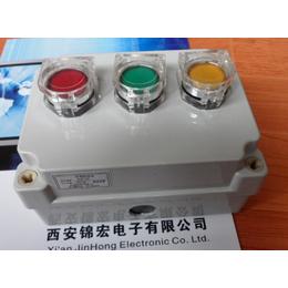 锦宏牌ADAH-X3PPD带灯二瞬动钮按钮盒机旁按钮盒
