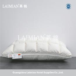莱棉酒店居家床上用品柔软纯棉枕头套全棉面包枕羽绒枕头芯批发