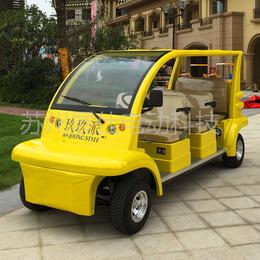 苏州常州电动观光车 乡村旅游四轮电瓶车 酒店贵宾6座接待车