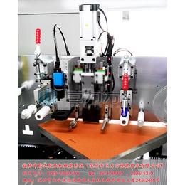 深圳巨力方旋转冲贴式胶纸机视觉系统案例
