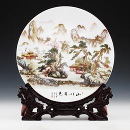 陶瓷圆盘 新款陶瓷纪念盘