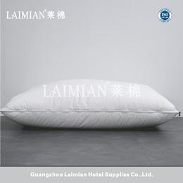 广州莱棉酒店用品 酒店宾馆枕芯 调节枕 白鹅绒枕头