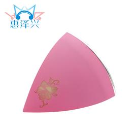 新款三角形金字塔炫彩灯光插卡蓝牙音箱无线手机免接通话音响