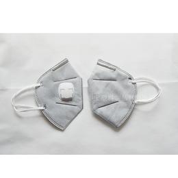 口罩一次性防尘无纺布防雾霾pm2.5防晒透气带呼吸阀3只装
