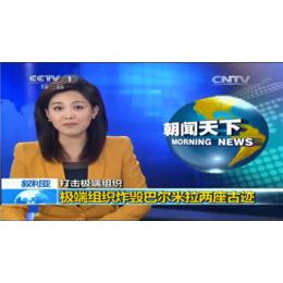 2016央视1套朝闻天下和晚间新闻广告价格