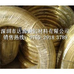弹簧专用环保黄铜弹簧线价格