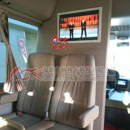 欧视卡生产商22寸嵌入式车载显示器 商务车改装电视屏厂家