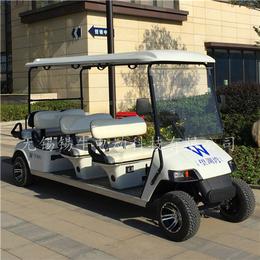 南京8座电动高尔夫球车-生态园观光接待车