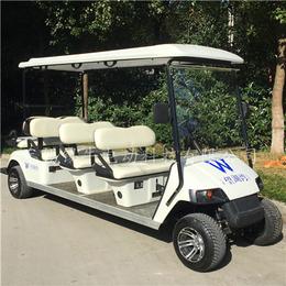 上海电动高尔夫球车-8座乡村旅游代步车-巡逻车