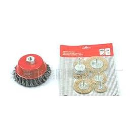 优质供应鑫刚各型号平型钢丝轮碗型钢丝轮、扭丝钢丝轮