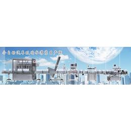 济南电脑触摸屏大规模批量生产玻璃水24头全自动灌装生产线