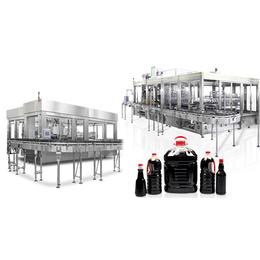 BF-229批量生产自动化程度高的全自动酱油醋调味品灌装线